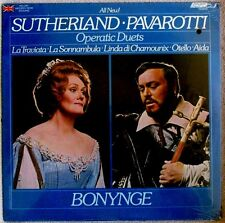 Sutherland Pavarotti Operatic Duets with Bonynge 1976 London # OS26449 Sealed LP
