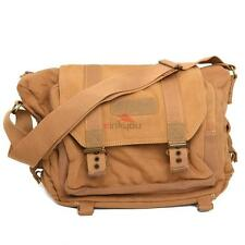 Waterproof Canvas SLR DSLR Camera Shoulder Bag Messenger Backpack