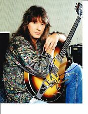BON JOVI RICHIE SAMBORA SIGNED POSED WITH GUITAR 8X10