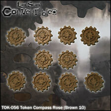LAST STAND CONVERTIBLES BITS COUNTERS - COMPASS ROSE TOKENS (10)