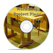 ROUTERS, WORK SHOP PRESS, CARPENTRY, LATHE, TOOL PLANS, SANDBLASTER, ARC WELDER