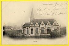 cpa Picardie Dos 1900 NEUILLY SAINT FRONT (Aisne) ÉGLISE