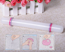 Embossing Non-Stick Rolling pin Sugarcraft tools Fondant Cake Decorating #a
