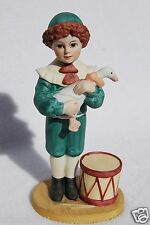 JAN HAGARA COLLECTABLES PORCELAIN FIGURINE - LARRY & HIS DUCK 1987-88