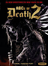 ABCs OF DEATH 2 - 26 WAYS TO DIE - HORROR DVD NEW/SEALED