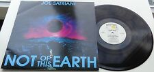KLP161 - Joe Satriani - Not of this Earth (GRUB 7) UK LP, food for thought 1986