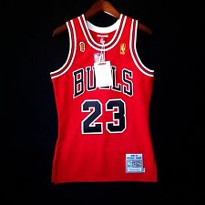 100% Authentic Michael Jordan Mitchell & Ness 96 97 Finals Bulls Jersey Sz 36 S