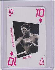 RARE 2012 LONDON UK 2012 OLYMPIC MUHAMMAD ALI / CASSIUS CLAY CARD ~ USA ~ BOXING