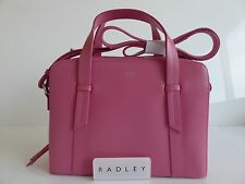 Radley Malton Pink Leather Multiway Bag BNWT RRP £189 With Dust Bag