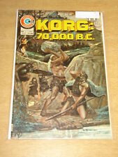 KORG 70000 BC #2 VF (8.0) CHARLTON COMICS AUGUST 1975