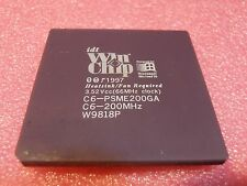 IDT WinChip C6-PSME200GA C6-200MHz Ceramic gold CPU Processor 200MHz Socket 7
