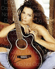 Shania Twain signed sexy hot beautiful 8X10 photo picture poster autograph RP 3