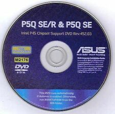 ASUS P5Q SE-R or P5Q SE Motherboard Drivers Installation Disk M2176