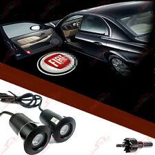2x Tür Shadow Laser Licht Einstiegsbeleuchtung LED Logo Projektor for Alle FIAT