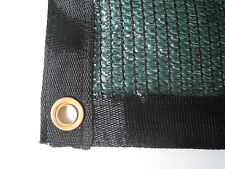 EasyShade 60% Green Shade Cloth Taped Edge with Grommets UV 12 ft x 16 ft