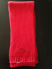 LACOSTE Men's Scarf RED