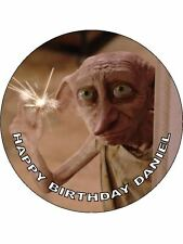 7.5 harry potters elfe dobby comestibles givrage feuille birthday cake topper