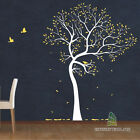Stylish Birds & Tree Wall Art Stickers, Tree Wall Decal, Decal Stickers - PD139