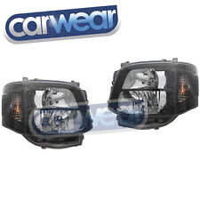 ALTEEZA HEAD LIGHTS TOYOTA HIACE SWB LWB COMMUTER 11-13 BLACK HEAD LIGHTS