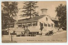 Washington Inn in Valley Forge PA 1931