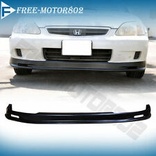 PP Polypropylene Front Bumper Lip Best Fitment On Ebay!! 99-00 Honda Civic Mugen