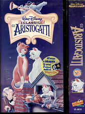 GLI ARISTOGATTI (DISNEY) - VHS NUOVA E SIGILLATA, BOLLINO TONDO, EDIZIONE 2000