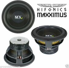 HIGH QUALITY HIFONICS MAXXIMUS MXZ12D4 SUBWOOFER 2000WATTS FOR COMPETITION SOUND