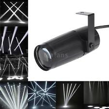 5W LED White Beam Pinspot Spotlight DJ Disco Stage KTV Bar Club Party Light N2R0