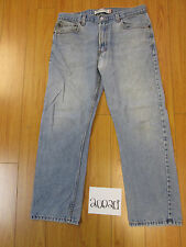 levi 505 regular fit destroyed feather grunge jean tag 34x29 Meas 34x28.5 20020F