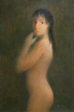 After Bath Female Nude Woman Art Giclee Print Original Painting Pojani, Ipalbus