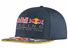 AUTHENTIC PUMA RED BULL RACING F1 TEAM DANIEL RICCIARDO FLAT BRIM CAP 053029 01