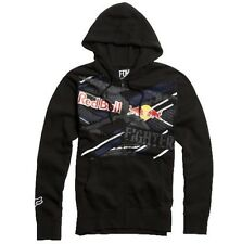 Fox Racing X-Fighters Strikethrough Zip Hoodie Black Size S BNWT RRP £64.95