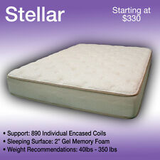 36 x 80 STELLAR----LUXURIOUS TRUCK MATTRESS----FITS ANY MAKE AND MODEL