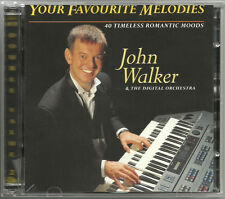 John Walker Your Favourite Melodies 3 CDs Organ Piano Keyboard Music