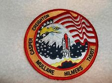 NASA NEW SEW ON NAME PATCH  (48)