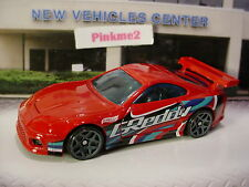 New 2017 HW SPEED GRAPHICS Greddy TOYOTA SUPRA ☆Red; gray y5☆LOOSE Hot Wheels