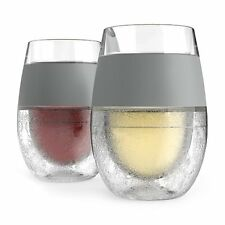 FREEZE Cooling Wine Glasses (Set of 2) by HOST by HOST Set of 2 glasses NEW