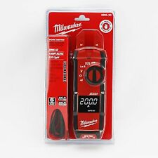 Milwaukee Tool 2205-20 Fork Meter | 200A AC | 1000V AC/DC | LED Light
