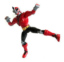 POWER RANGERS RED RANGER superposeable 10 inch toy figure with SOUND FX