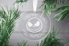 Nightmare Before Christmas Decoration Ornament, Glass Christmas Decoration,