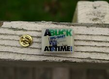 Wal-Mart A Buck At A Time Always Low Prices Metal Enamel Employee Pin Pinback