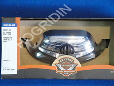 harley davidson chrome front fender tip road king classic touring softail flhr