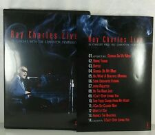 Ray Charles In Concert With The Edmonton Symphony DVD Region 1, NTSC