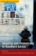 NEW - Security and Democracy in Southern Africa (Wits P&DM Governance)