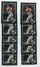 2010 Bowman Chrome Buster Posey Rookie RC Lot Of 10 Cards Giants