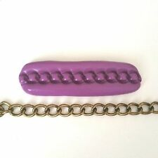 CHAIN Silicone Mould 80 mm - Sugarcraft, Polymer Clay, Fimo, Resin