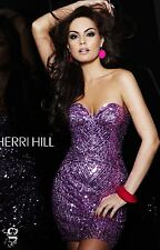Sherri Hill style 2892 Lilac size 6-Prom-Homecoming-Military Ball