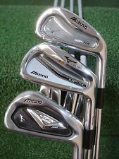 MIZUNO MP-H4 JPX 825 PRO MP-54 3-9 COMBO IRON SET DG S300 STIFF STEEL USED RH