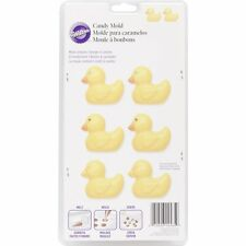 Wilton RUBBER DUCKY Candy Chocolate Truffle Confectionary Treat Mold Mould