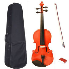 1/8 Violin 1/8 Fiddle +Case+Bow+Bridge For 3-6 Years Old Kid Learners Kid Violin